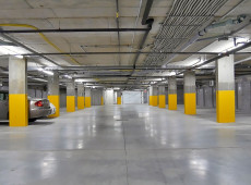 Garage intérieur – Le Clos du Faucon